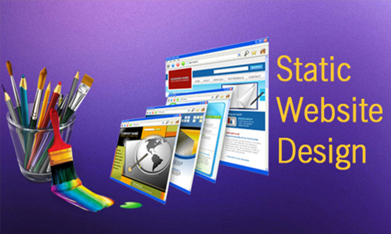 Advantages & Disadvantages of Static and Dynamic Web design