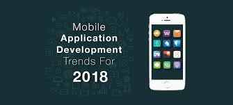 Mobile applications in 2018